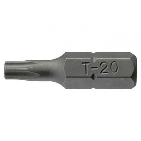 "1/4"" bit TORX Teng Tools TX25x25mm(100 ks)"