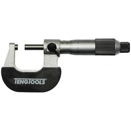 Mikrometer 0-25mm, 0,01mm, Teng Tools www.naradie-tools.sk