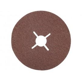 LUNA 5ks fiber brúsny papier pre brúsne kotúče zrnitosť 50, priemer 125 mm