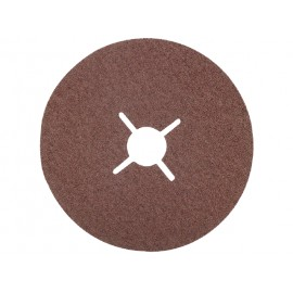 Brusný papier pre brúsne kotúče zrnitosť 36, priemer 125 mm, 5 ks