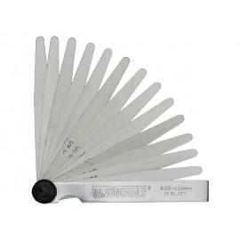Teng Tools Mierky špárové, 0,05-1mm, 20ks