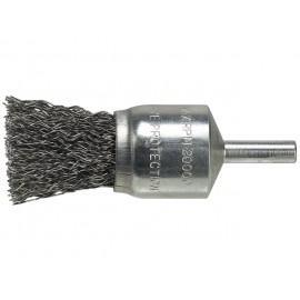 LUNA kefa štetcovitá 15mm, zvlnený drôt 0,40mm