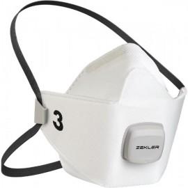 ZEKLER 1503V FFP3V M / L filtračná polomaska (3 kusy)